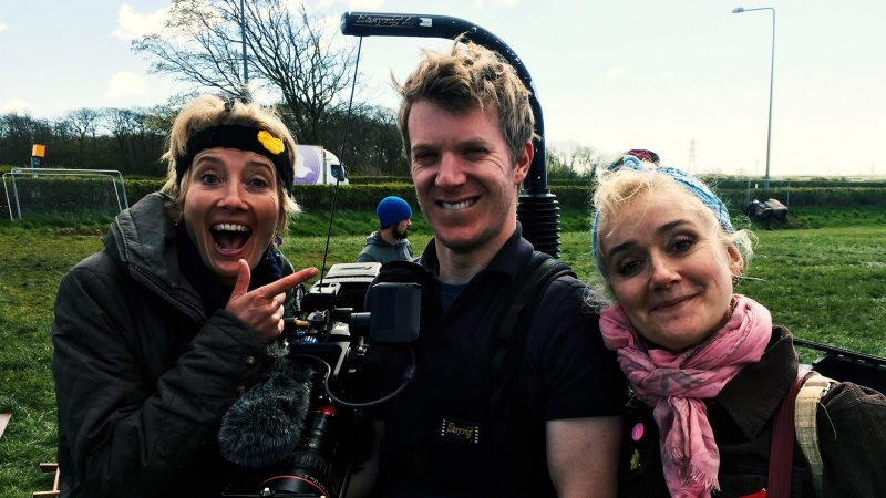 Emma Sophie Thompson Fracking John Cooper Director Of Photography Lighting Cameraman Manchester